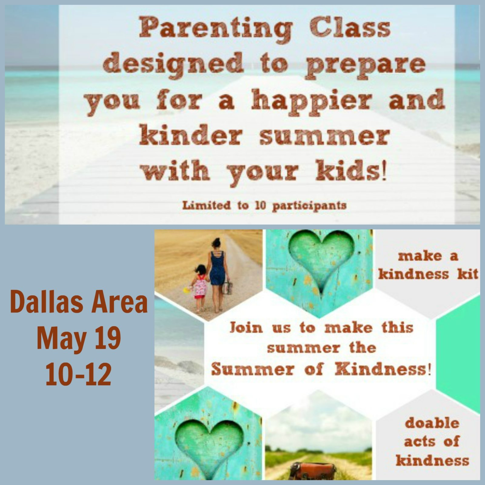 Summer of Kindness Parenting Class