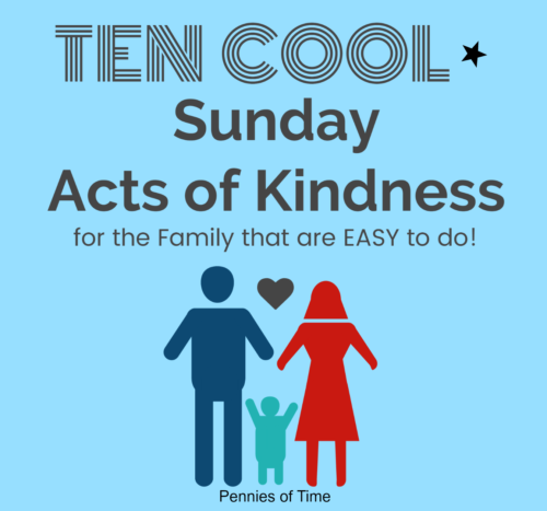 Acts of Kindness to do on the Sabbath